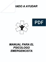 Manual Para El Psicologo Emergencista