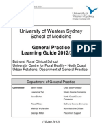 General Practice Learning Guide 2012-2013