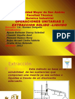 Trabajo Extraccion Solido Liquido