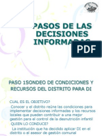 PASOS DE LAS DECISIONES INFORMADAS.ppt