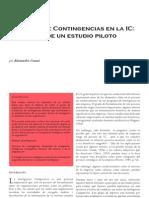 Factores de Contingencia en La Inteligencia Competitiva