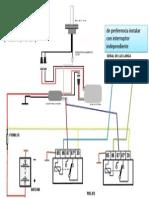 Diagrama de Instalacion Hid