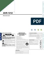 Avr-1312e2 Ea Esp CD-rom v00