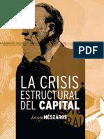 István Mészáros la_crisis estructural del capital