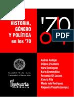 Andújar, Andrea et al (comps) - Historia, género y política en los 70