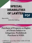 Legal Ethics Report