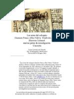 Las actas del coloquio - GUAMAN POMA Y BLAS VALERA - Tradición andina
