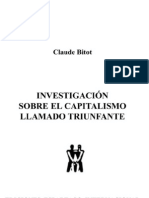 Bitot, C.. INVESTIGACIÓN SOBRE EL CAPITALISMO LLAMADO TRIUNFANTE