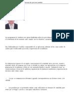 Programas de Auditoria Resolucion Del Proceso Auditor