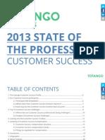 2013 Customer Success Benchmark