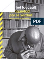 Foucault La Inquietud Por La Verdad