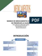 Jornada III - Manejo de Medicamentos