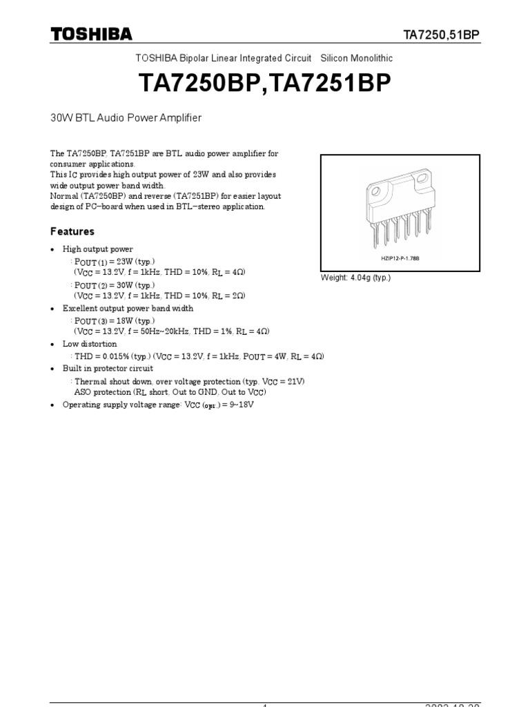 933 Capacitor Amplifier Audio Protector Circuit