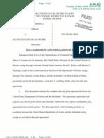 Al Marri Plea Agreement