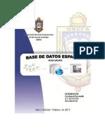 Bases de Datos Espaciales Trabajo Final