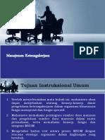 Pertemuan 1. Penjelasan Tentang Materi Manajemen Ketenagakerjaan
