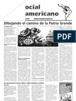 `Foro Social Latinamericano', June 2013 issue