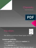 Chemistry year 8 basic ppt