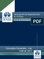 Defensoría del Pueblo. Participación víctimas (1)
