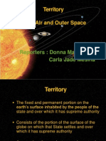 Public International Law - Land and Outer Space Territory
