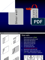 Design of shear wall