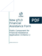 gTLD Public Component for Financial Assistance Application Nameshop