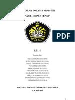 makalah antihipertensi