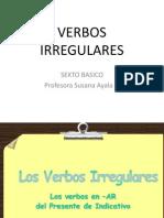 VERBOS IRREGULARES SEXTO