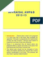 Appraisal AWPB
