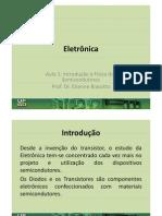 Eletrônica - Aula 01_IntroSemicondutores