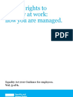 Employees - know how you are managed