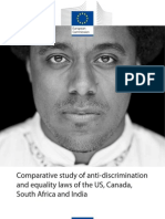 Comparative study of equality laws of US, Canada, South Africa and India