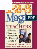 1-2-3 Magic for Teachers_ Effective Classroom Discipline Pre-K Through Grade 8