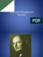 Classroom Mgt Theorists 2 (1)