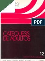 Alberich, Emilio - Catequesis de Adultos