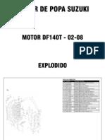 Explodido Suzuki DF140T - 02-08