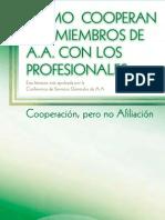 Como Cooperan Los Miembros de AA Con Los Profesionales