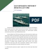 Penyelesaian Sengketa Menurut Konvensi Hukum Laut 1982