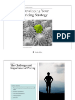 Developing Your Pricing Strategy