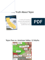 The Truth About Tejon