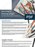 Sketching and Drawing Range Leaflet