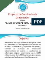 Migracion de Gsm a Umts