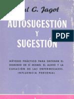 Jagot, Paul - Autosugestión y Sugestión