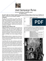 Expanded Campaign for Mordheim