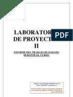 Informe Lab Proyectos II
