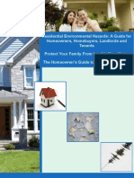Residential Residential Environmental Hazards Booklet Environmental Hazards Booklet