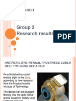 Amazing Research Results