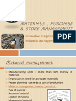 Purchase & Store Management