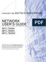 Brother Internet Fax User Guide