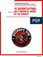 Waxman - Olympic Weightlifting the Most Powerful Sport in the World